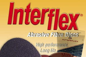 Interflex - Abrasive sand disc