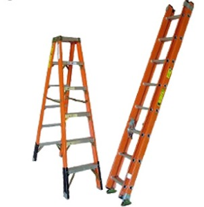 Fiber Glass Ladders (Electric Shock Proof)